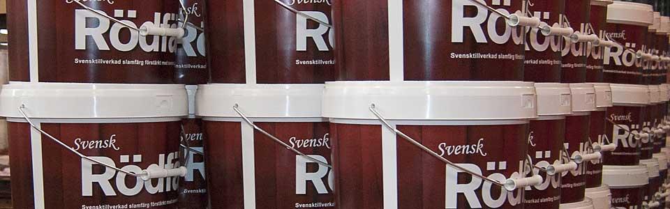 Svensk Rodfarg pall